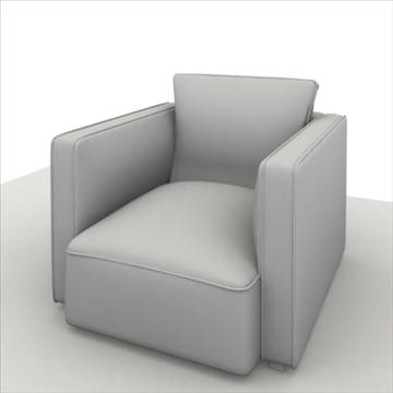 globe sofa 3d model 3ds max 80320