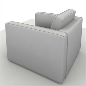 globe sofa 3d model 3ds max 80321
