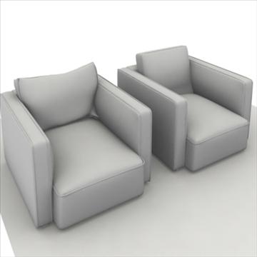 globe sofa 3d model 3ds max 80322