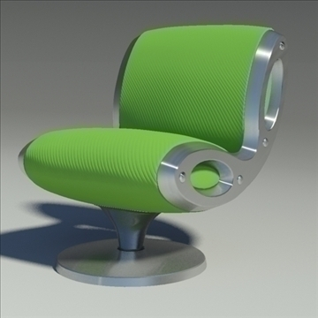 gluon armchair 3d model 3ds max dwg fbx obj 91173