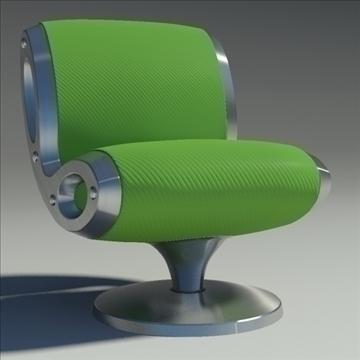 gluon armchair 3d model 3ds max dwg fbx obj 91174