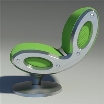 gluon armchair 3d model 3ds max dwg fbx obj 91175