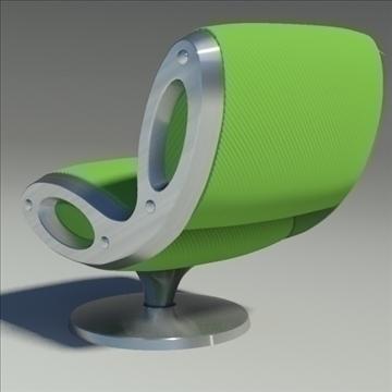 gluon armchair 3d model 3ds max dwg fbx obj 91177