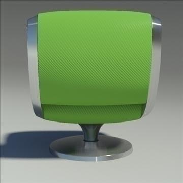 gluon armchair 3d model 3ds max dwg fbx obj 91178