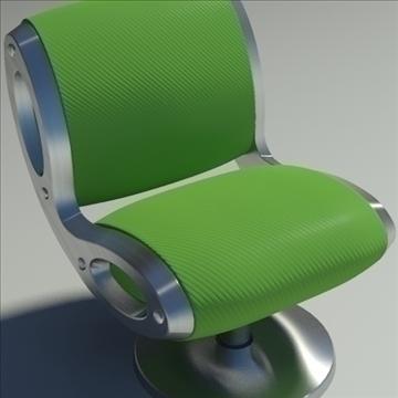 gluon armchair 3d model 3ds max dwg fbx obj 91179
