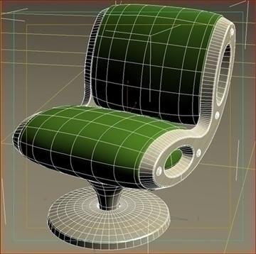 gluon armchair 3d model 3ds max dwg fbx obj 91180