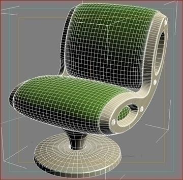 gluon armchair 3d model 3ds max dwg fbx obj 91181