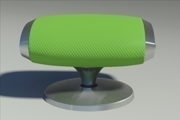 gluon pouf 3d model 3ds max dwg fbx obj 91183