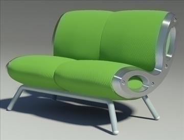 gluon sofa collection 3d model other 91238