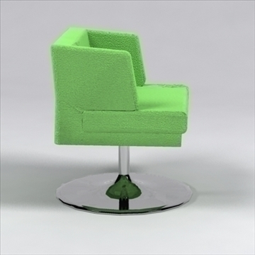 h chair 3d model 3ds max dxf 96235