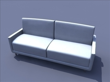 household sofa 3d model ma mb obj 82937