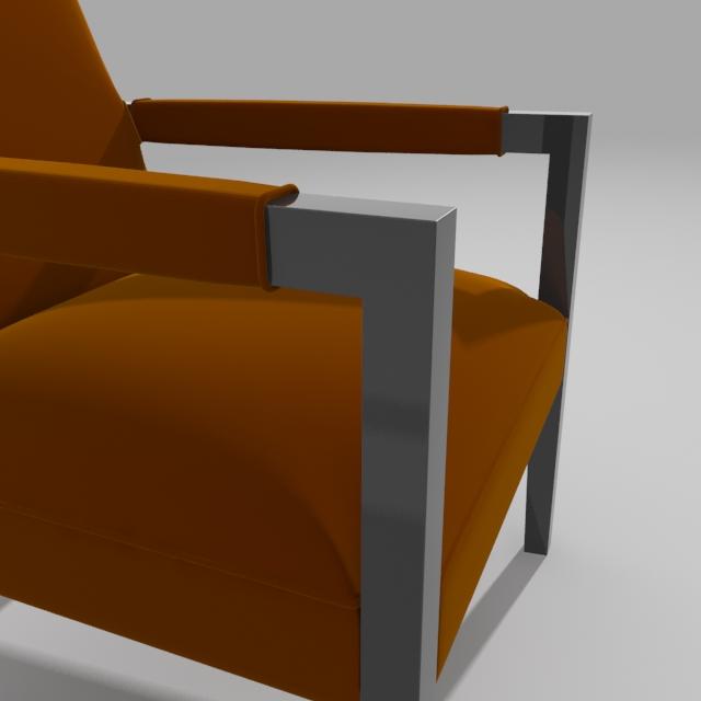 john hutton krēsls 3d modelis 3ds max dxf fbx obj 114903