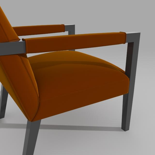 john hutton krēsls 3d modelis 3ds max dxf fbx obj 114905
