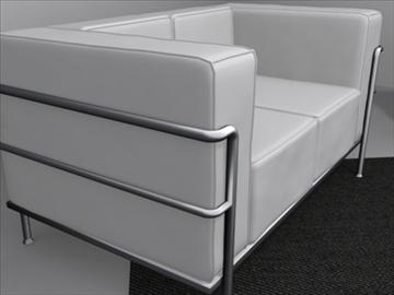 le corbusier furniture 3d model 3ds max wrl wrz obj 84721