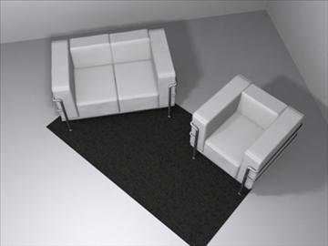 le corbusier furniture 3d model 3ds max wrl wrz obj 84723