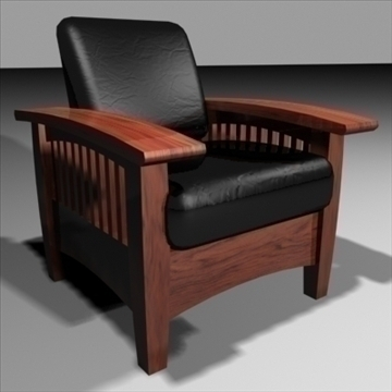 leather armchair 3d model 3ds max 84462