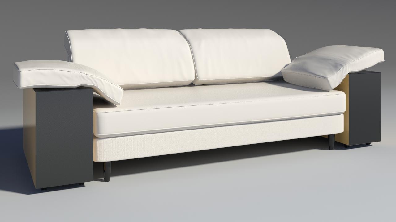 lotas sofa 3d model max 157454