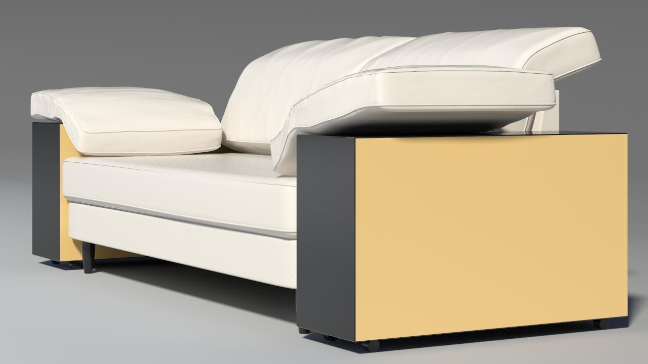 lotas sofa 3d model max 157455