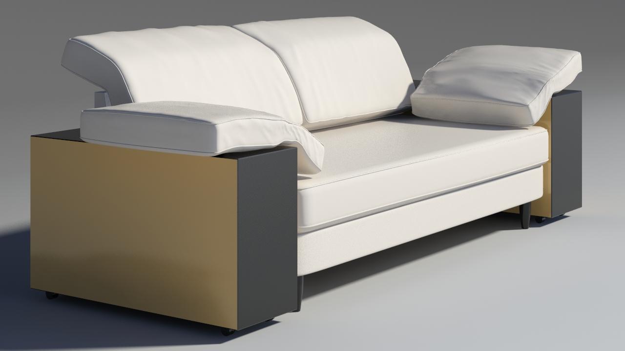lotas sofa 3d model max 157456