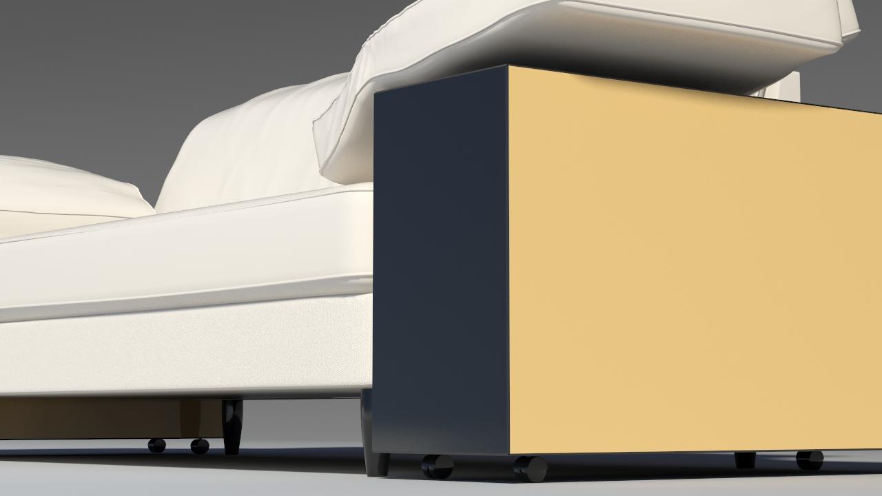 lotas sofa 3d model max 157457