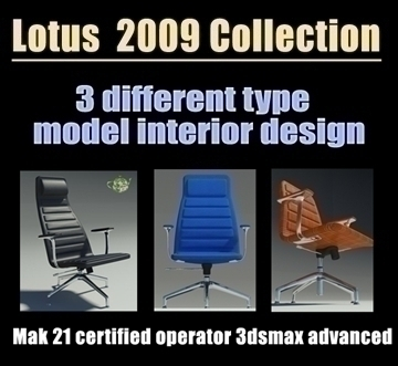 lotus 2009 collection 3d model max 93030