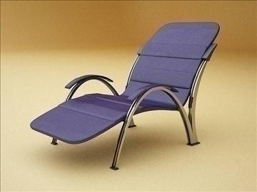 modern armchair 3d model max 109362