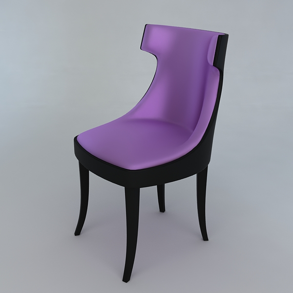 modern chair 3d model 3ds max fbx obj 120810