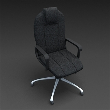 office chair 3d model max 100607