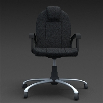 office chair 3d model max 100609