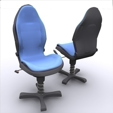 office chair – model #3 3d model 3ds max 109248