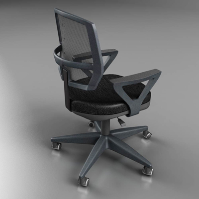 office chair – model #5 3d model 3ds max fbx ma mb obj 155836