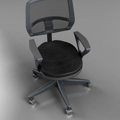 office chair – model #5 3d model 3ds max fbx ma mb obj 155837