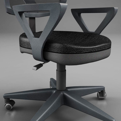 office chair – model #5 3d model 3ds max fbx ma mb obj 155839