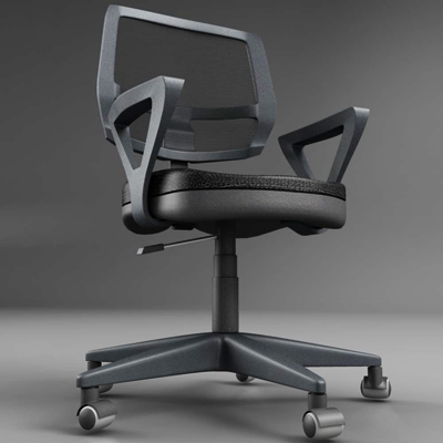 office chair – model #5 3d model 3ds max fbx ma mb obj 155840