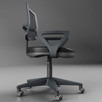 office chair – model #5 3d model 3ds max fbx ma mb obj 155841
