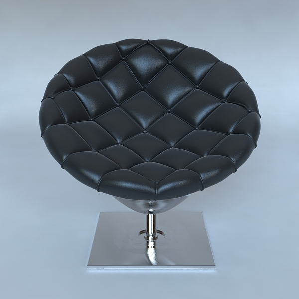 Pod chair quilted leather upholstery ( 155.46KB jpg by ComingSoon )