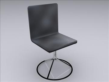 realan kuhinjski stol i stolice 3d model 3ds max fbx obj 93026