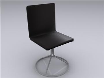 realan kuhinjski stol i stolice 3d model 3ds max fbx obj 93029