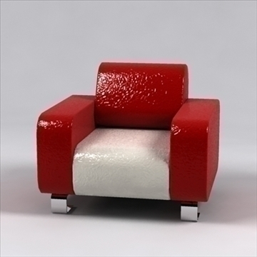 ronzio sofa 3d model 3ds max dxf 96281