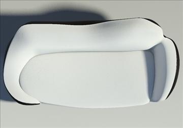 saula marina leather black white 3d model 3ds max fbx obj 91423