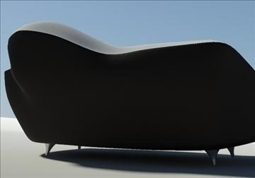saula marina leather black white 3d model 3ds max fbx obj 91424