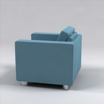 senza chair 3d model 3ds max dxf 96226