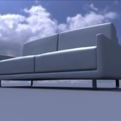 sofa ( 47.6KB jpg by ivan3dbinary )