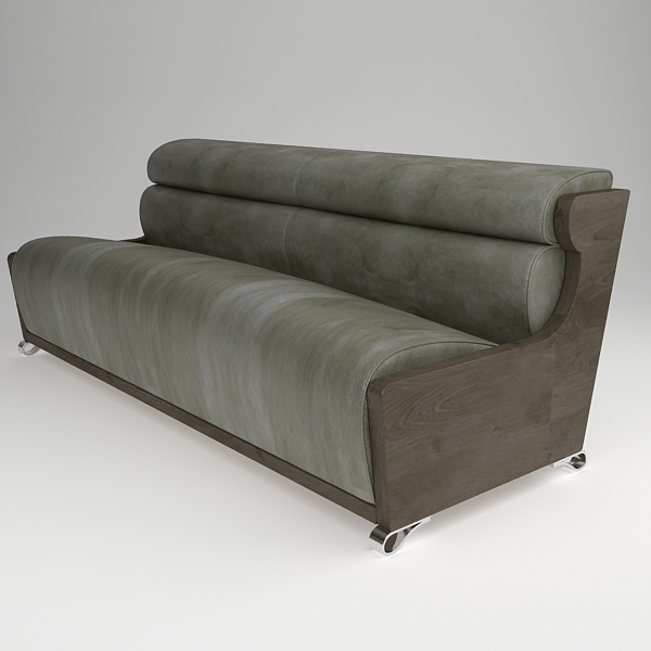 sofa contemporary style 3d model max fbx texture obj 120998