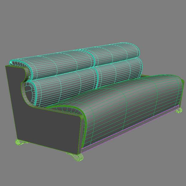 divan müasir tərzi 3d model max fbx texture obj 121002