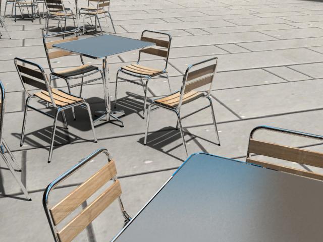 tryezë dhe karrige modeli 3d 3ds max dxf fbx jpeg jpg obj 114907