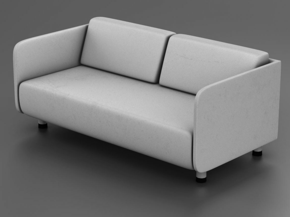 White couch ( 144.4KB jpg by mikebibby )