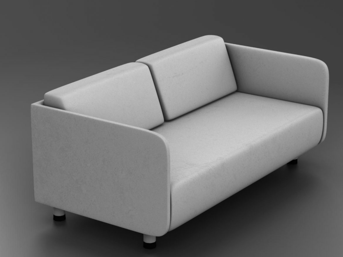 White couch ( 146.01KB jpg by mikebibby )