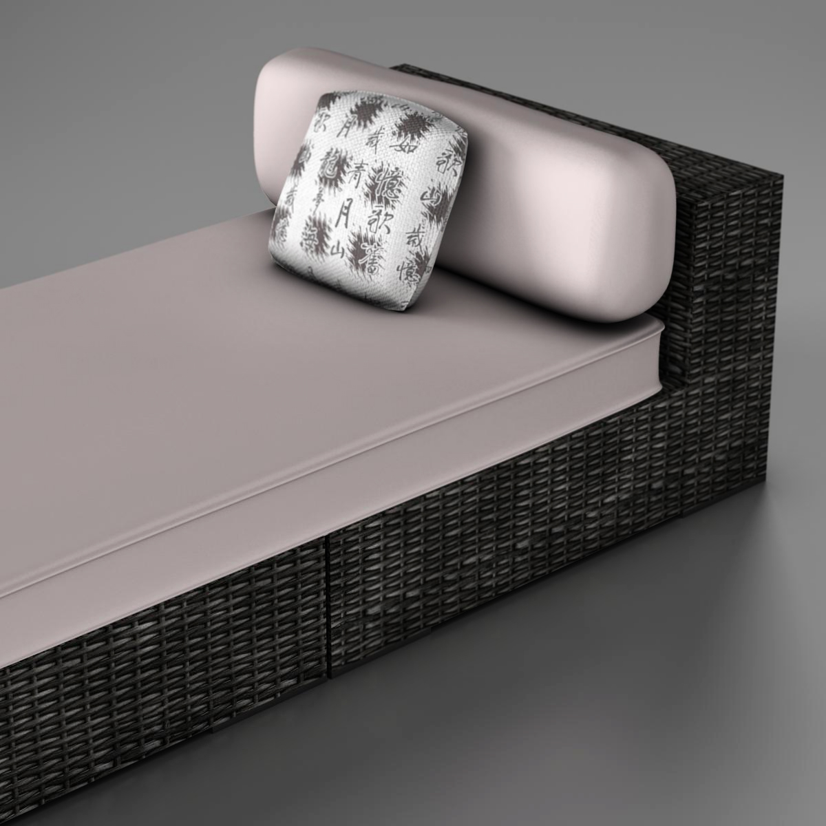 rattan chaise 3d загвар 3ds max fbx c4d ma mb obj 162559