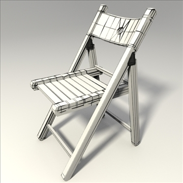 wooden chair 3d model 3ds blend obj 103669